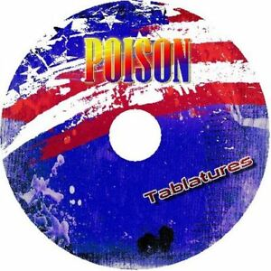 POISON-GUITAR-BACKING-TRACKS-CD-BEST-GREATEST-HITS-MUSIC-PLAY-ALONG-ROCK-MP3
