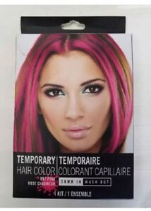 Image Is Loading Temporary Hair Color Comb In Wash Out Hot