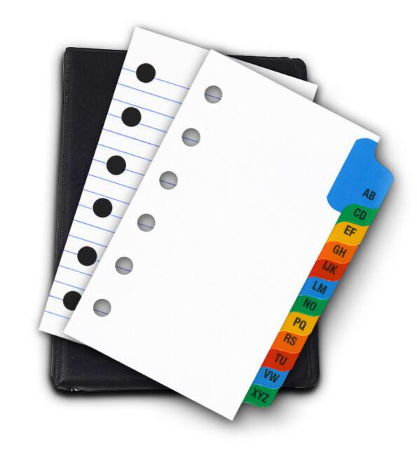 3 x 5 inch 6 ring binder kit ebay