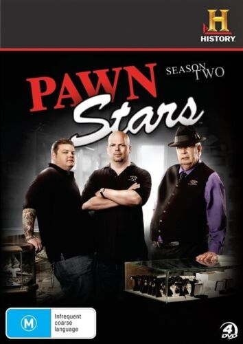 1 of 1 - Pawn Stars : Season 2 (DVD, 2012, 4-Disc Set)