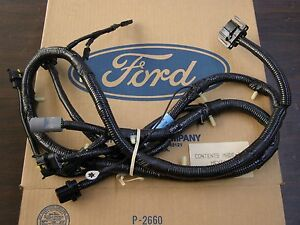 nos oem ford 1992 1993 econoline dash to headlight wiring harness e250 e350 ebay. Black Bedroom Furniture Sets. Home Design Ideas