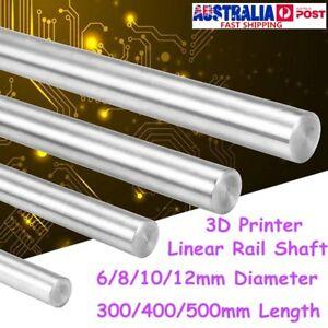 300-500mm-6-12mm-CNC-3D-Printer-Axis-Chromed-Smooth-Rod-Steel-Linear-Rail-Shaft