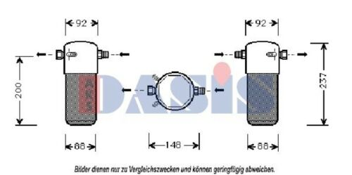 AKS lunkadidé Condensateur climat Sèche-linge Sèche-linge climatisation 800060n