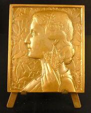 Médaille allégorie de l'Agriculture la Récolte la Fertilité sc Morlon 64mm medal