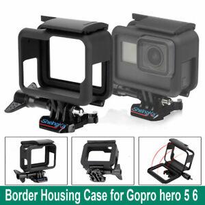 Para la acción Negra Pro HERO 8 Go cameraplastic Carcasa Funda Protectora de montaje del marco