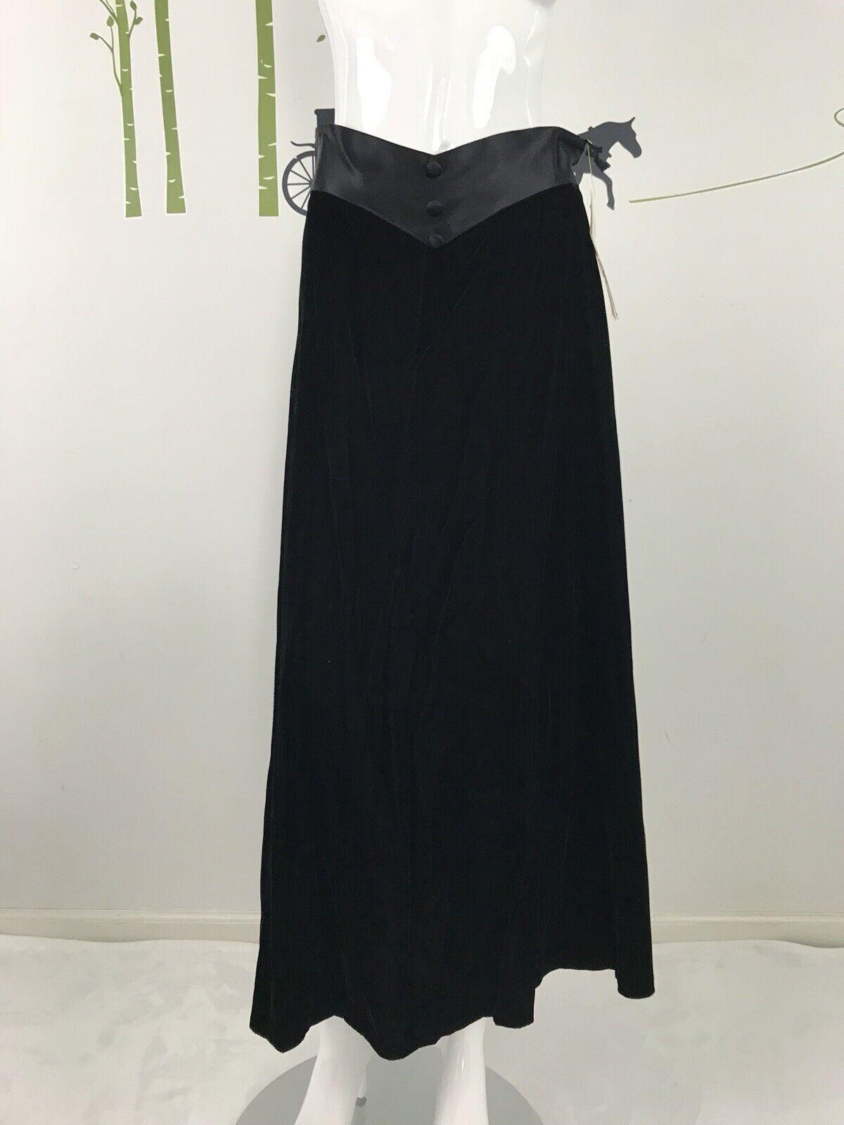 Jessica McClintock Womens Size 12 Velvet Black Sa… - image 3