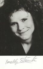 IMELDA STAUNTON Original Youthful Vintage HANDSIGNED Photo