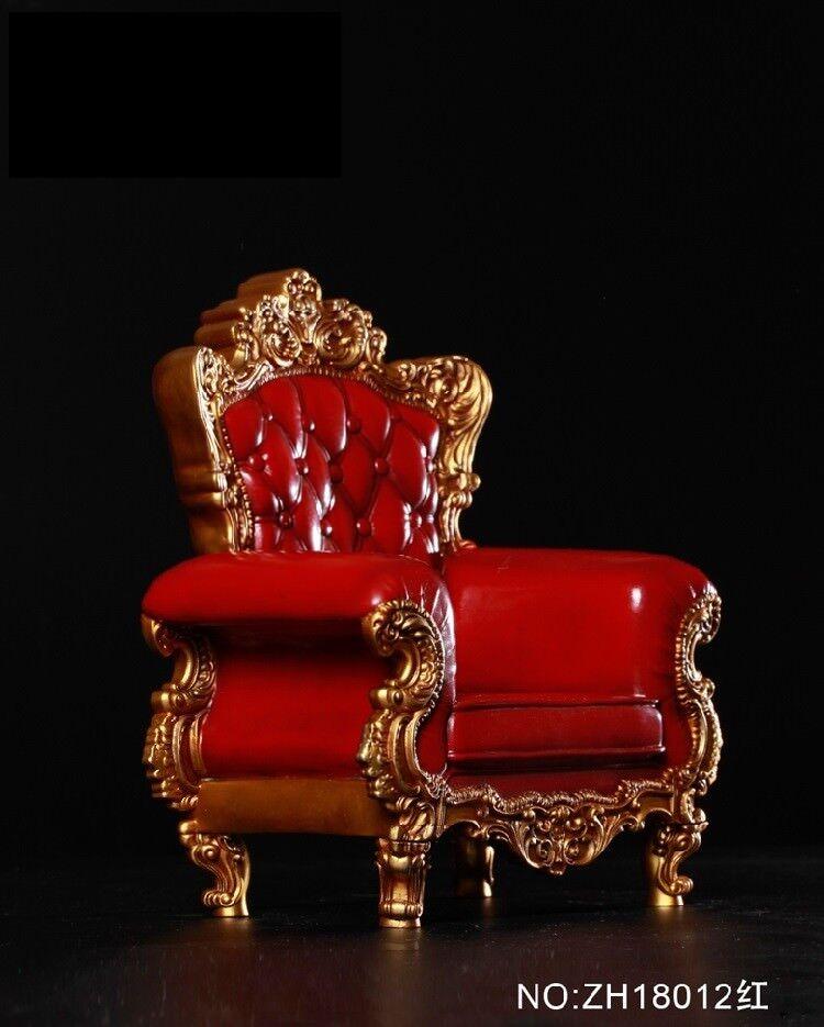 1   6, sofabett (abbildung 3.0 sofa - modell haoyutoys rot für 12  action - figur - puppe