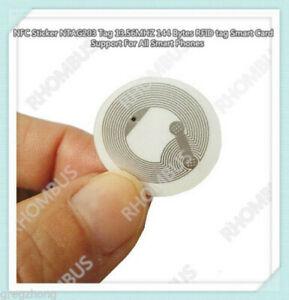 10 Pcs NFC Sticker NTAG203 Tag 13 56MHZ 144 Bytes RFID tag