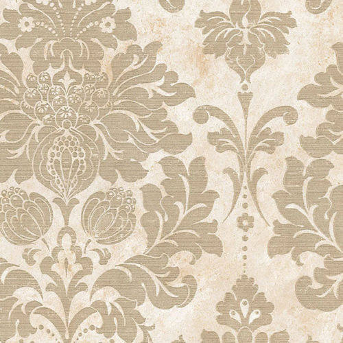 Large Scale Gold Damask Wallpaper MD29414 Double Roll FREE SHIPPING - Large Scale Gold Damask Wallpaper MD29414 Double Roll EBay