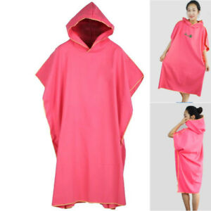 ac99b727773d Image is loading Outdoor-Changing-Robe-Bath-Towel-Adult-Hooded-Beach-