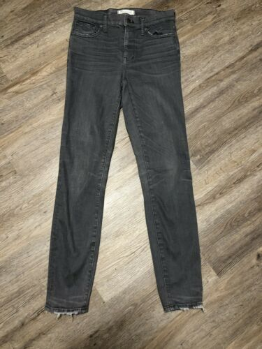 Jean gris haute taille taille Madewell 26 skinny ZxUwnd