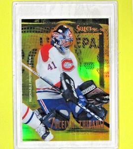 JOCELYN-THIBAULT-1995-96-034-MIRROR-GOLD-034-Pinnacle-30-Montreal-Canadiens