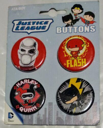 DC Comics Super Hero Buttons//Pins Marvel