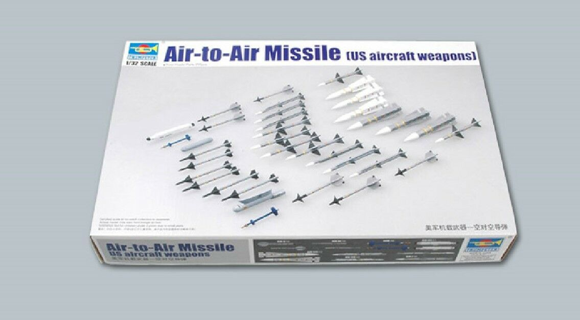 03303 Trumpeter Air to Air Missile US Aircraft Weapons 1 32 Model Accessories