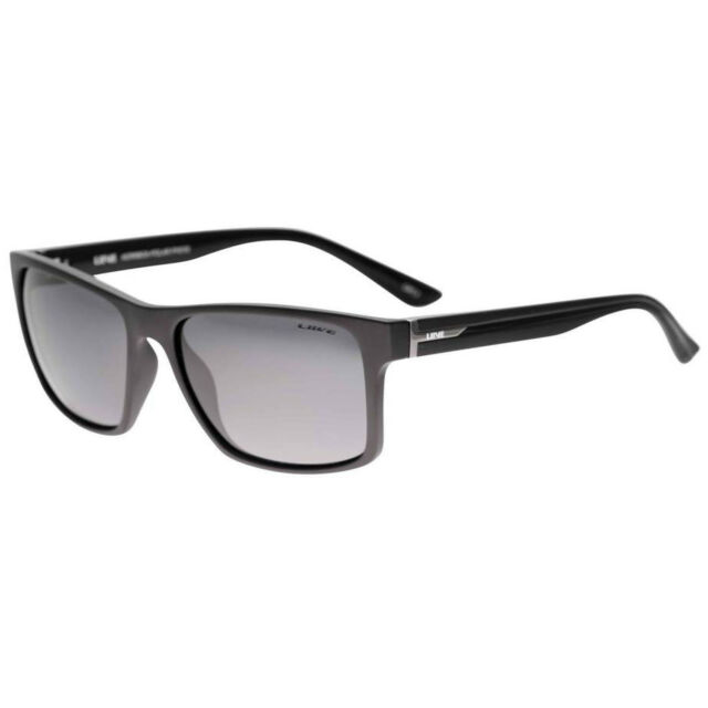 f02573f0d0c Liive Vision Kerrbox Polarised Twin Black Sunglasses L0506a