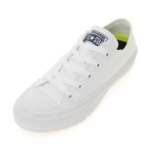 ce70a16fe09 Image is loading CONVERSE-Chuck-Taylor-All-Star-II-Canvas-White-