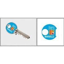 Sticker Marseille Clé adhésif autocollant triangle