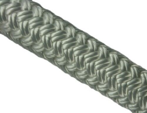 KINGFISHER SOLID WHITE BRAID ON BRAID POLYESTER 'PARACORD' ROPE BY THE METRE