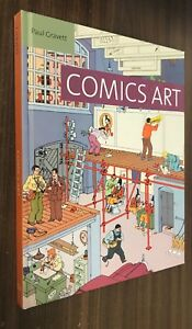 COMICS-ART-Paul-Gravett-2013-Yale-University-Hardcover-OOP-HC