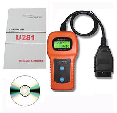 Fault Code diagnostic Reader Scanner 4 VW Volkswagen Touran Beetle Jett Golf GTI