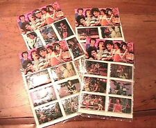 ROLLING STONES 1980s VINTAGE STICKERS - LOT OF 24 - REAL PHOTOS -DATED 1983- NEW