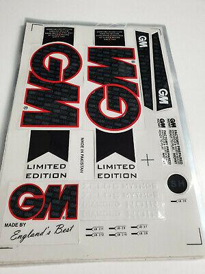 CRICKET BAT GM STICKER WITH EMBOSS