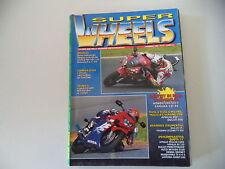 SUPER WHEELS 12/1998 DUCATI ST4/MONSTER 600/LAVERDA GHOST/APRILIA PEGASO CUBE/RS