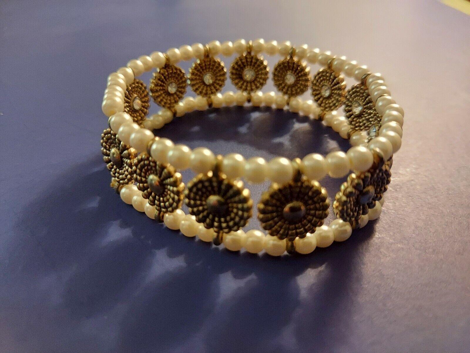 Bracelet Lot, Costume Jewelry - image 4