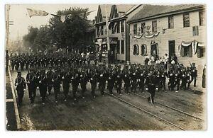 RPPC-Labor-Day-Parade-HUNTINGDON-PA-County-Pennsylvania-Real-Photo-Postcard
