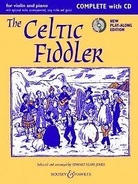 à Condition De Celtic Fiddler Huws Jones Complet + Cd-afficher Le Titre D'origine