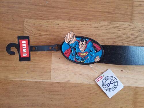 Superman Fist Buckle Belt 118 cm length DC Comics UK Seller