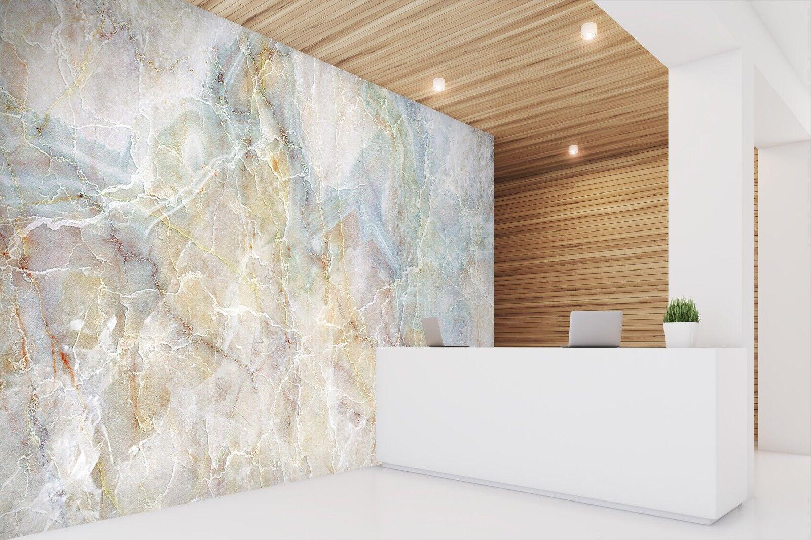 3D Natural Marble 1 Texture Tiles Marble Wall Paper Decal Wallpaper Mural AJ UK