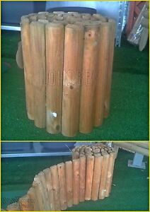 Staccionata da giardino in legno pino steccato bordura per - Staccionata in legno per giardino ...