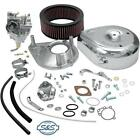 S&S Cycle - 11-0422 - Super G Shorty Carburetor Kit w/ Manifold