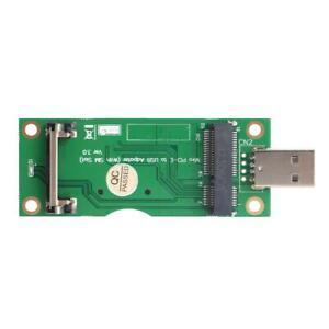 Mini-PCI-E-USB-Adapter-mit-8Pin-SIM-Karten-Slot-fuer-WWAN-LTE-Modul