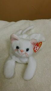 de86a624ca9 Ty Beanie Baby FLIP the CAT w Errors 2-28-95 Tush Tag 1993