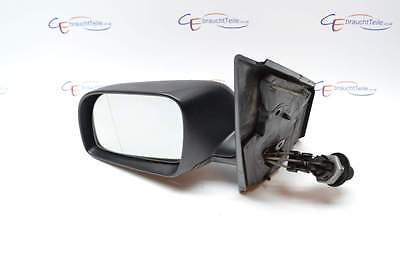 vw polo 9n 02 05 aussenspiegel spiegel mech lv schwarz matt ebay. Black Bedroom Furniture Sets. Home Design Ideas