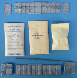 Roundhouse-HO-Gauge-Canadian-Pacific-205314-40-039-Truss-Side-Box-Car-Kit-B-309U1