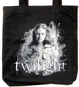 Twilight-BELLA-Tasche-Shopping-Bag-BLACK-CANVAS-Turnbeutel-Einkaufstasche