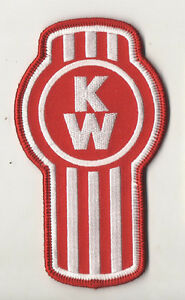 KENWORTH-TRUCK-PATCH-Trucker-Biker-patch-Sew-Iron-on-4-75-x-2-75-inches