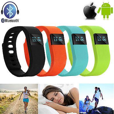 TW64 OLED Watch Bluetooth Wristband Activity Sleep Health Bracelet Fitness Gym