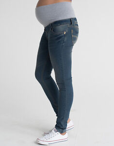 07d96ec882ff0 Image is loading Skinny-Maternity-Jeans-Over-Bump-Petite-Long-Plus-