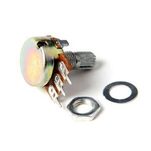 10Pcs-B10K-3-pin-Liner-Taper-Rotary-Potentiometer-Pots-Shaft-10K-ohm-15mm