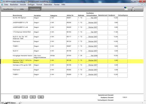 Modèle Militaire-Administration 2-logiciel pour gérer vos modèles militaires