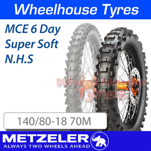 Metzeler MCE 6 Day Extreme 140//80-18 70M Super Soft Not Road Legal