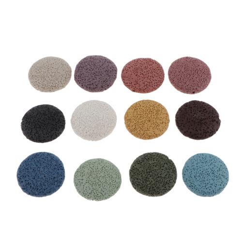 Perles de lave diverses pierres précieuses naturelles pierre de quartz en