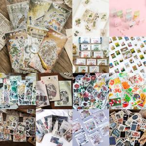 Karikatur-Sticker-Aufkleber-Set-Zettel-DIY-Basteln-Scrapbook-Tagebuch-Alben-Deko