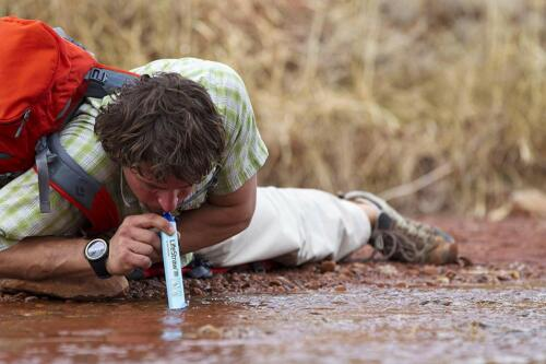 LifeStraw Personal Water Filter for Hiking and Emergency Free Shipping Camping