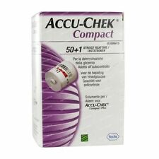 New product Accu-Chek Compact Glucose Test Strips Box of 51 Exp date : 07/2017